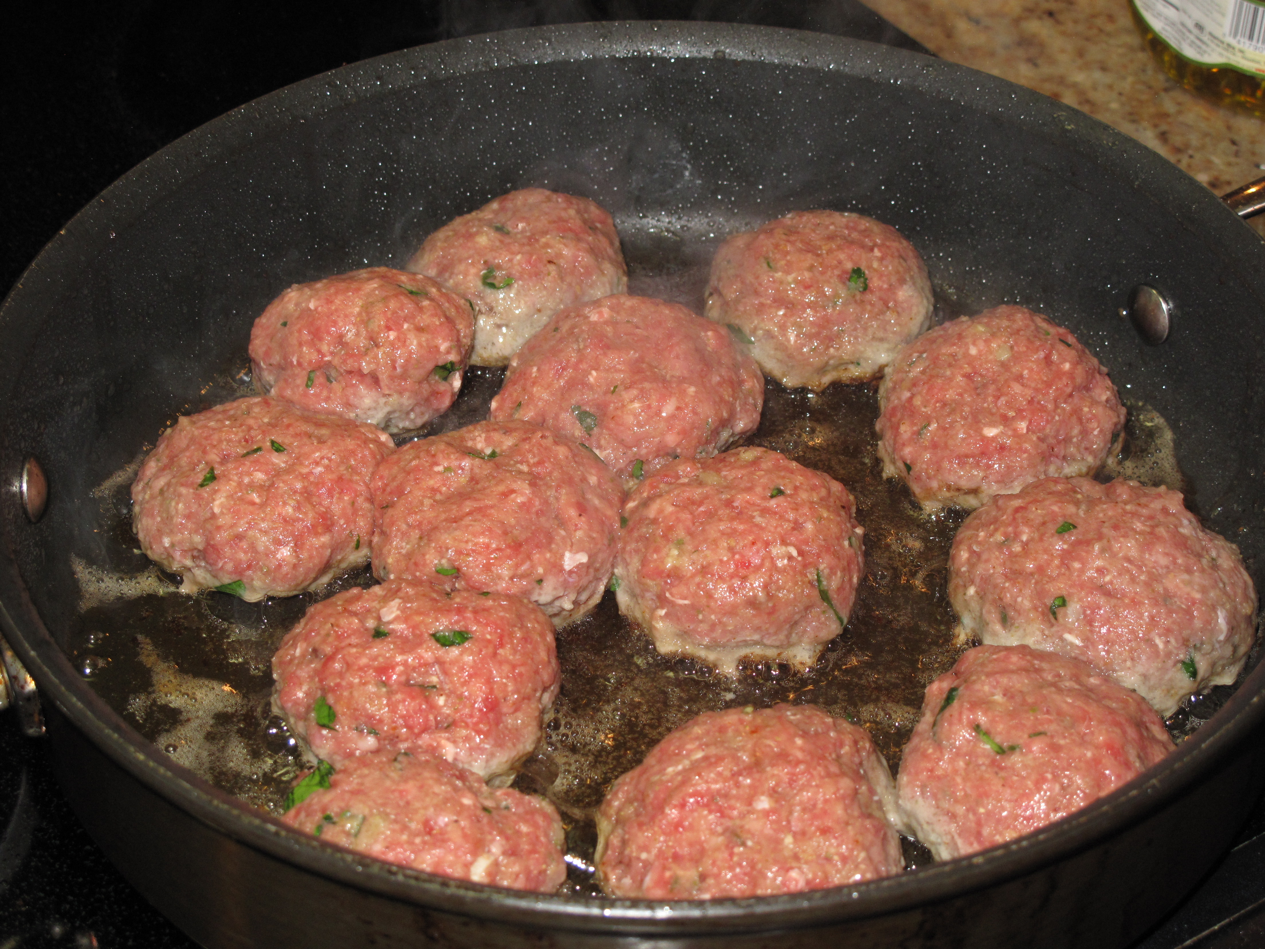 ... to make real italian meatballs based on a recipe from a real italian