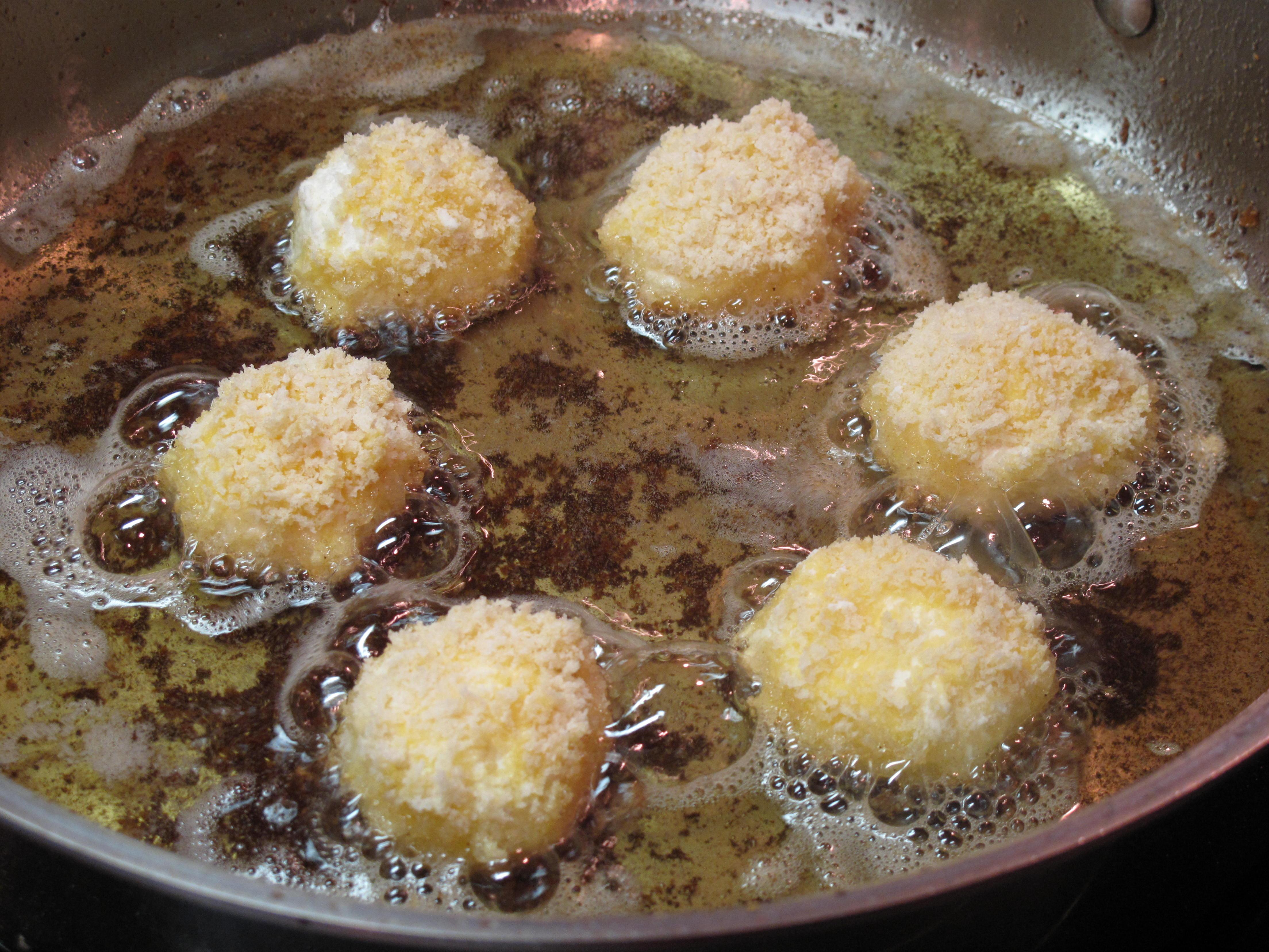 Ricotta Patties In Rose Cream, Sauce Recipes — Dishmaps
